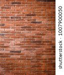 brick wall texture on rustic... | Shutterstock . vector #1007900050