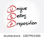 usp   unique selling... | Shutterstock .eps vector #1007901400