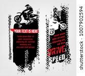 vector automotive banners... | Shutterstock .eps vector #1007902594