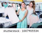 adult women are choosing new... | Shutterstock . vector #1007905534