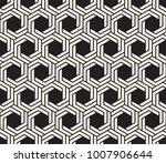 vector seamless pattern. modern ... | Shutterstock .eps vector #1007906644