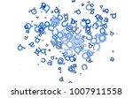 light blue vector background...   Shutterstock .eps vector #1007911558