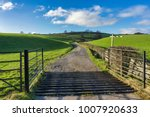 An Open Gate And A Cattle Grid...