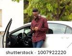 portrait of happy young man... | Shutterstock . vector #1007922220