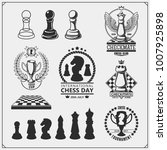 set of labels  emblems  icons... | Shutterstock .eps vector #1007925898