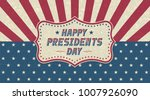 grunge happy presidents day... | Shutterstock .eps vector #1007926090