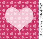 seamless monochrome pattern... | Shutterstock . vector #1007930179
