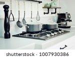 kitchen accessories  dishes.... | Shutterstock . vector #1007930386