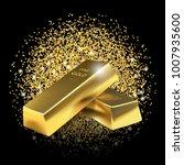 illustration gold bars on... | Shutterstock .eps vector #1007935600
