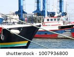 fish boat or trawler in the... | Shutterstock . vector #1007936800