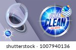 ultra clean washing template ... | Shutterstock .eps vector #1007940136