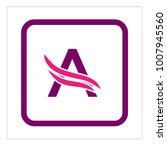 letter a logo | Shutterstock .eps vector #1007945560