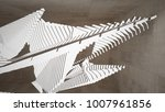 abstract white and brown...   Shutterstock . vector #1007961856