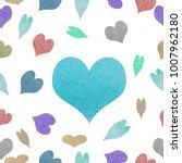 watercolor seamless pattern | Shutterstock . vector #1007962180