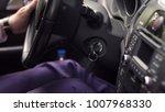 hand businessman holding car... | Shutterstock . vector #1007968330