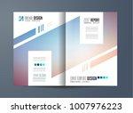 brochure template  flyer design ... | Shutterstock . vector #1007976223