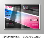 brochure template  flyer design ... | Shutterstock . vector #1007976280