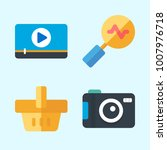 icons set about commerce with... | Shutterstock .eps vector #1007976718
