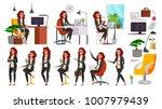 business woman character vector.... | Shutterstock .eps vector #1007979439