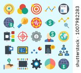 icons set about marketing with...   Shutterstock .eps vector #1007982283
