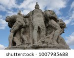 one of the statues at famous...   Shutterstock . vector #1007985688