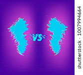 versus screen on violet... | Shutterstock .eps vector #1007994664