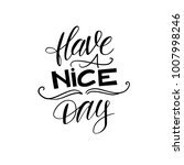 have a nice day. vector... | Shutterstock .eps vector #1007998246