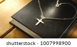 cross is love.christian ... | Shutterstock . vector #1007998900