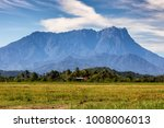on a mid day  mount kinabalu... | Shutterstock . vector #1008006013