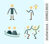 icons set about human with... | Shutterstock .eps vector #1008013810