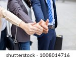 team of business happy after... | Shutterstock . vector #1008014716
