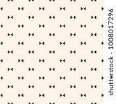 bow tie pattern. simple... | Shutterstock .eps vector #1008017296