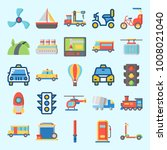 icons set about transportation... | Shutterstock .eps vector #1008021040