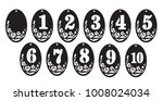 table numbers figures for laser ... | Shutterstock .eps vector #1008024034