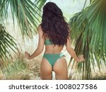 sexy back of a beautiful... | Shutterstock . vector #1008027586