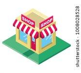 shop store  market  isometric... | Shutterstock .eps vector #1008028528
