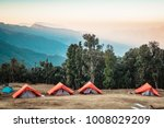 this is the view from nag tibba ... | Shutterstock . vector #1008029209