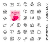 valentine's day romantic... | Shutterstock .eps vector #1008031270