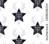 geometric vector pattern design | Shutterstock .eps vector #1008038224