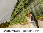 happy bride and groom   Shutterstock . vector #1008040444