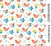 vector seamless pattern in... | Shutterstock .eps vector #1008046048