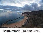 sky above rocks and stony coast.... | Shutterstock . vector #1008050848