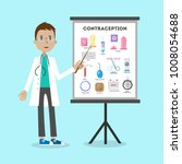 methods of contraception. male... | Shutterstock . vector #1008054688