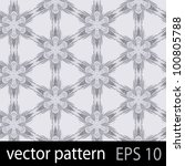 snowflakes pattern. seamless... | Shutterstock .eps vector #100805788