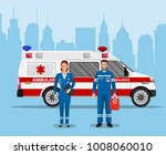 ambulance medical service first ... | Shutterstock .eps vector #1008060010
