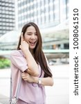 young asian business owner have ...   Shutterstock . vector #1008061510