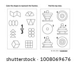 two visual math puzzles and... | Shutterstock .eps vector #1008069676