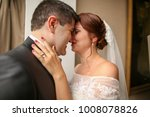 sensual bride   groom hugging... | Shutterstock . vector #1008078826