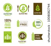 gluten free icons   can... | Shutterstock .eps vector #1008082744