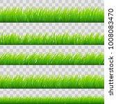 large set of fresh green spring ... | Shutterstock .eps vector #1008083470